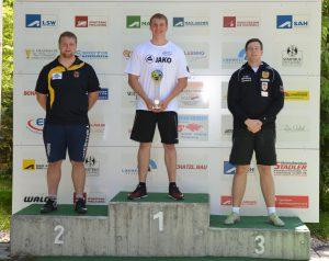 Gesamtsieger: Unterholzner - Schätzl - Weber